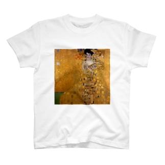 グスタフ・クリムト(Gustav Klimt) / 『アデーレ・ブロッホ=バウアーの肖像 I』(1907年) T-shirts