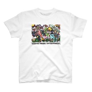 イン・ザ・シー カラー T-shirts