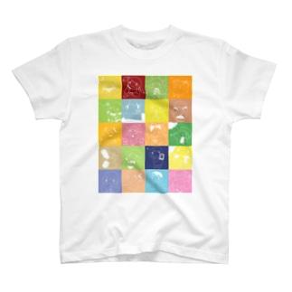 夏の日の記録 T-shirts