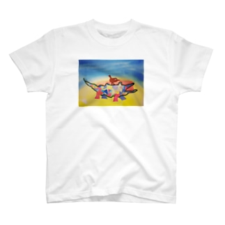 ことりとワニ T-Shirt