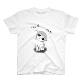 갸우뚱 고양이 ~小首をかしげる子猫さん~ T-shirts