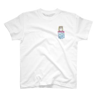 ホッとひと息充電日和_星名ラテ T-shirts