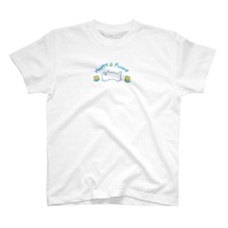 本調子のHappyFunnyねこちゃん T-shirts