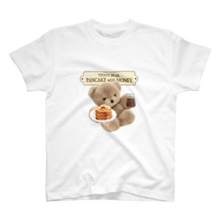 TEDDYBEAR PANCAKE T-shirts