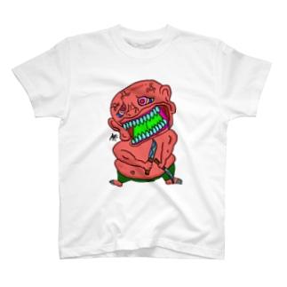 見た目えぐい奴 T-shirts