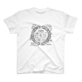 地球空洞説Tシャツ T-shirts