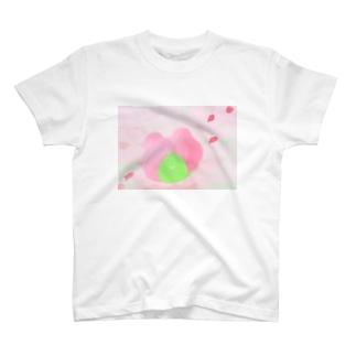 さくらもちくまsuisai T-shirts
