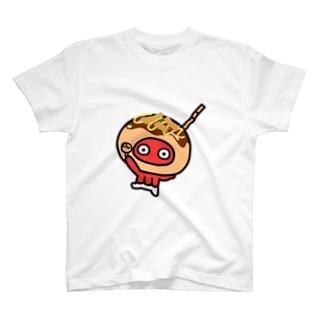 いかたこ たこ焼きたこ T-shirts