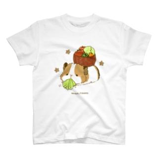 試食もバッチリ! T-shirts