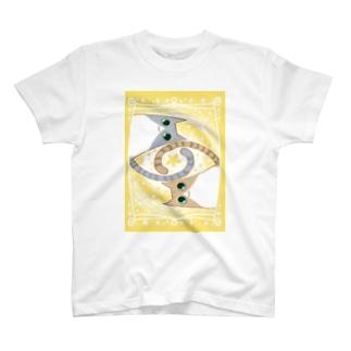 ゆるい系の猫-ゆず色- T-shirts