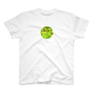スズメの横顔 2 T-shirts