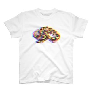 """BROKEN"" Python regius T-shirts"