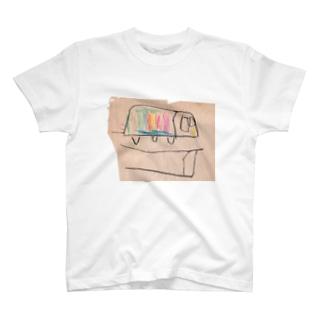 虹色電車 T-Shirt