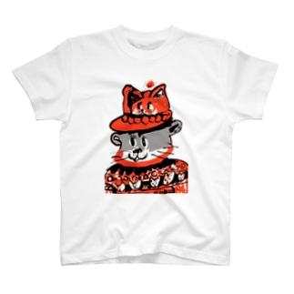 グレーねこかな! T-shirts