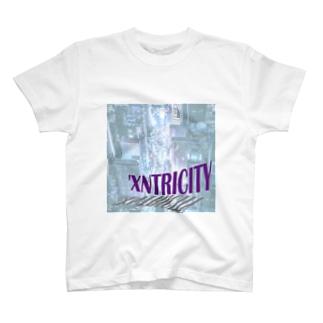 えきせんとりしてぃ-正方形 T-shirts