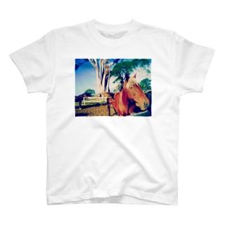 イケ馬くん T-shirts