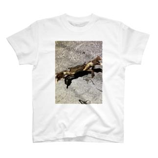 かに・威嚇 T-shirts