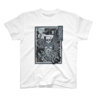 Megitsune Ukiyoe Style Tシャツ T-shirts