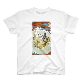 ねこねてる T-shirts