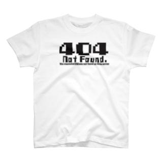 404 notfound type1 T-shirts