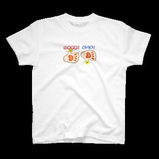 Qsarkのイイネ 良くないねっ T-shirts