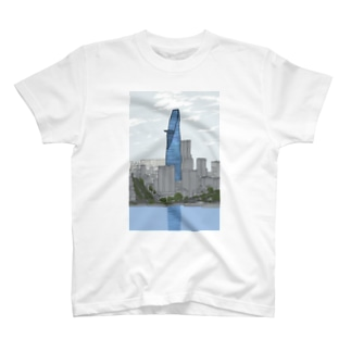 ベトナムデザインのVIETSTAR★のホーチミンで2番目に高いビル T-shirts