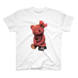 メンヘラクマ T-shirts