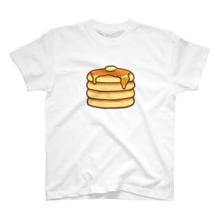 かわいいホットケーキ T-shirts