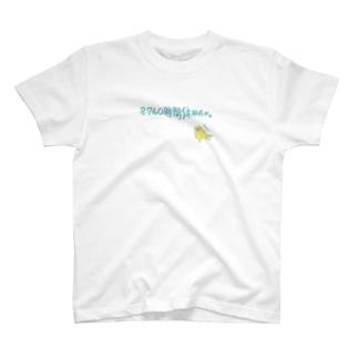 すなおなインコ 8760時間休みたい T-shirts