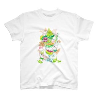 抹茶パフェ T-Shirt