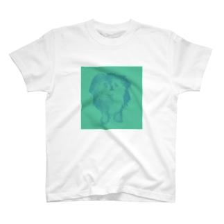 実家犬buru- T-shirts