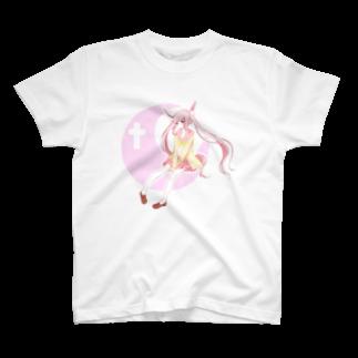 そらのうさぎのつきうさぎ T-shirts