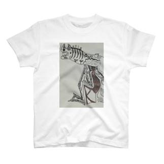ゴロゴロニャ~祭りのネコを食べる怪物  T-shirts