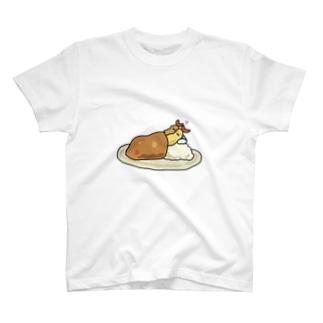 エビフライカレー T-shirts
