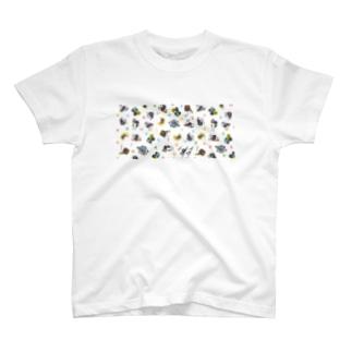 シャチクソウガラコップ T-shirts