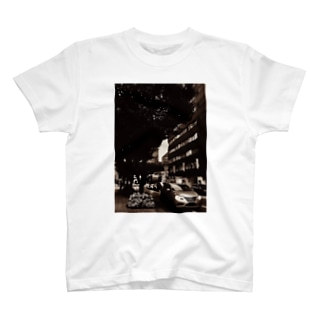 L-cotのtraffic T-shirts
