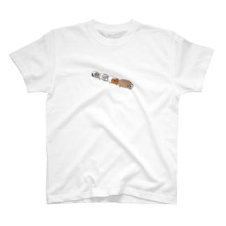 渋滞モルモット T-shirts