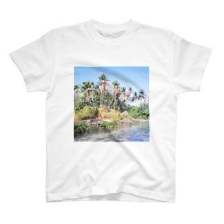 ミクロネシア:ナンマトル遺跡の風景写真 Micronesia: Nan Madol / Pohnpei T-shirts