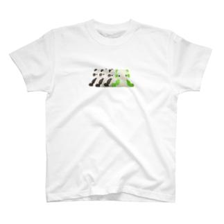 パンダの残像 T-shirts