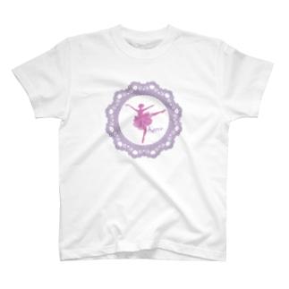 華やかなバレリーナ T-shirts