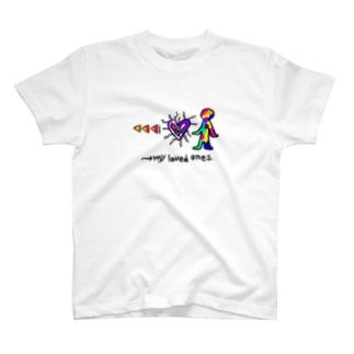 WM©︎(→my loved ones T-shirts