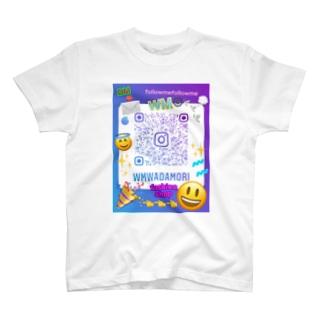 WM©︎(QRコード😃 T-shirts