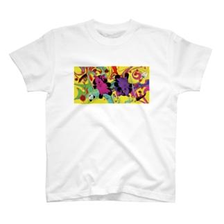Ying(陰)--狂シーズー T-shirts