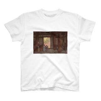 吉田博 昌慶宮 T-shirts