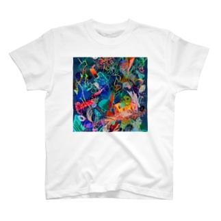 秘密から生えた魚2 / Sprouting fish from secrets2 T-shirts