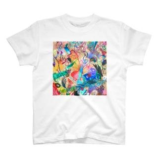 秘密から生えたお魚たち / Sprouting Fish from Secrets T-Shirt