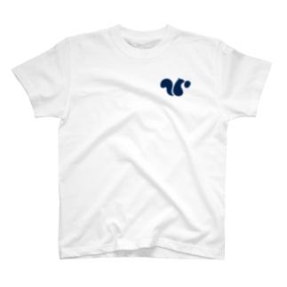 snaq.meロゴ入りTシャツ/ホワイト/アッシュ/ナチュラル/ライトベージュ/ミックスグレー T-shirts