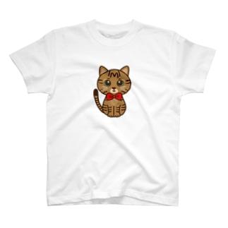 キジトラのすずちゃん・ロゴなし01 T-shirts
