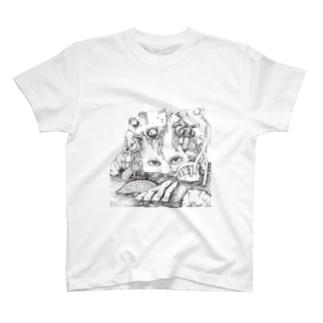 機械少女 T-shirts