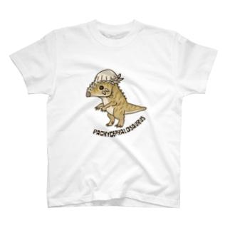 恐竜 パキケファロサウルス T-shirts